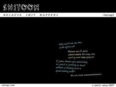 Shitoon 15: Lights on please